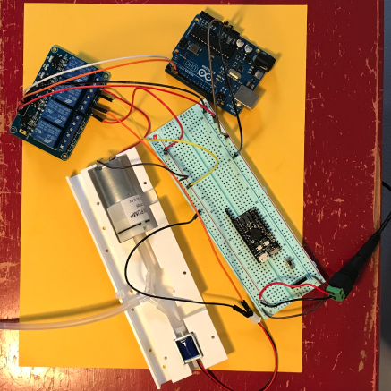 electro-pneumatic system