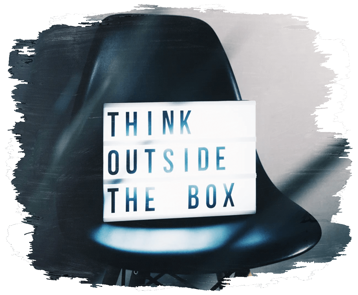 """This is an image for businesses too """"think outside the box"""" and engage Rapid Action Health's healthcare services"""
