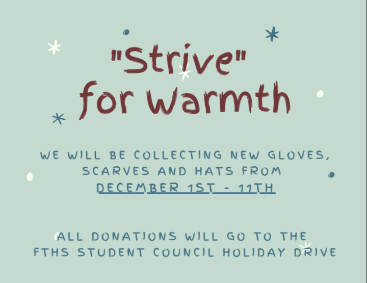 Strive for warmth flyer