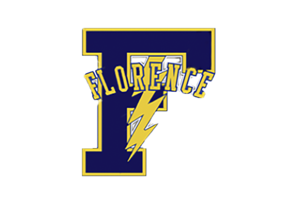 Florence F with lightning bolt.