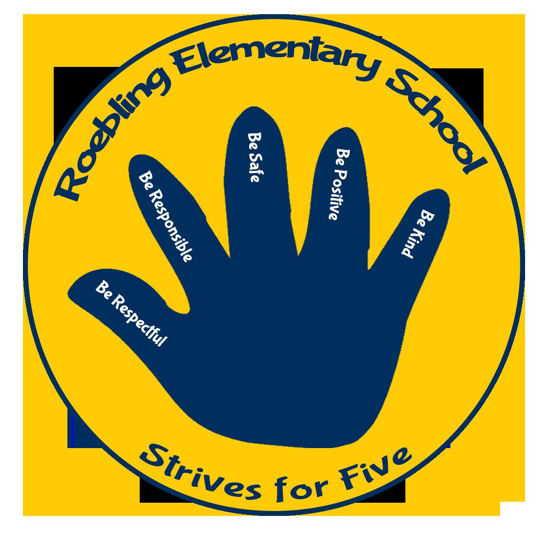 Roebling Logo 2020 - Strive for Five