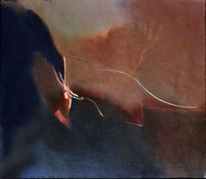"In/Out • Oil on Canvas, 34"" x 40"" • 1978"