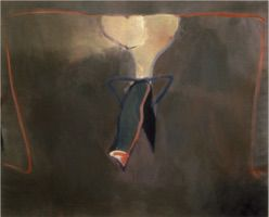 "Venus Figure • Oil on Canvas, 48"" x 60"" • 1983"