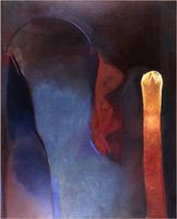 "Argos • Oil on Canvas, 78"" x 60"" • 1983"