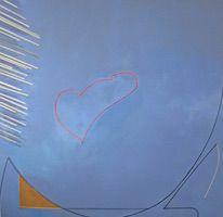 """Wednesday • Acrylic on Linen over Panel, 50"""" x 52"""""""