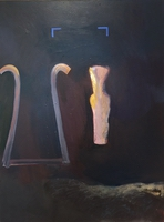 "Orpheo • Oil on Canvas, 48"" x 36"" • 1986"