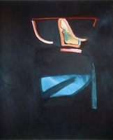 "Tarn • Oil on Canvas, 51"" x 43.75"" • 1986"