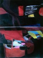 """Hinge • Oil on Canvas, 36"""" x 48"""" • 1966"""