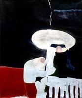 "Lillies(Ruth) • Oil on Canvas, 60"" x 50"" • 1966"