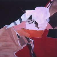 "Daphne • Acrylic on Muslin, 48"" x 48"" • 1966"