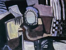 "Pablo • Oil on Canvas, 36"" x 48"" • 1967"