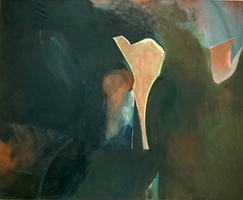 "Woman of Mynde, Oil on Canvas, 53"" x 65"" • 1983"