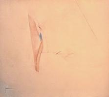 "Jude's Buffalo Hide • Acrylic on Canvas, 50"" x 56"" • 1970"