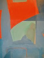 "Untitled#13 • Acrylic on Canvas, 60"" x 45"" • 1970"