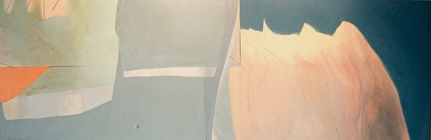 "Untitled #11 Landscape • Acrylic on Canvas, 36"" x 108"" • 1970"