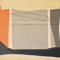"Untitled #19 • Acrylic on Canvas, 39"" x 39"" • 1971"