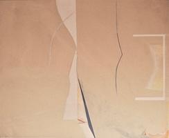 "Orientalish • Acrylic on Canvas, 53"" x 65"" • 1971"