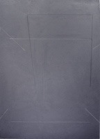 """Homage to the Square • Acrylic on Canvas, 70"""" x 50"""" • 1971"""