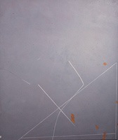 "Gravity Spots • Acrylic on Canvas, 50"" x 42"" • 1972"