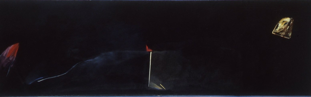 "Ocean I • Oil on Canvas, 26"" x 86"" • 1976"