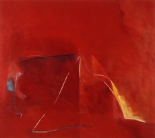 "Red #2 • Oil on Canvas, 50"" x 50"" 1975"