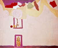 Untitled with Pineapple * Oil on Canvas, 50'' x 60''• 1967