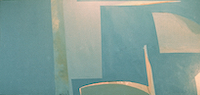 6a Landscape • Acrylic on Canvas, 36'' x 80'' 1970