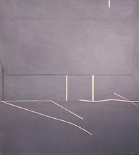 "Untitled #25 • Acrylic on Canvas, 45"" x 40"" • 1971"