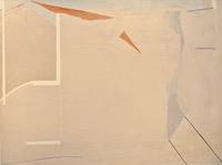 "Untitled #24 • Acrylic on Canvas, 36'' x 48"" • 1971"