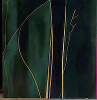 """Thursday • Acrylic on Linen over Panel, 52"""" x 50"""""""
