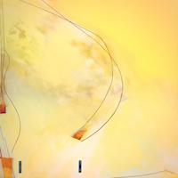 Approach,* Acrylic on Canvas, 48'' x 48'' 2021