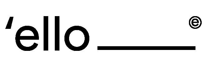 Ello donut logo
