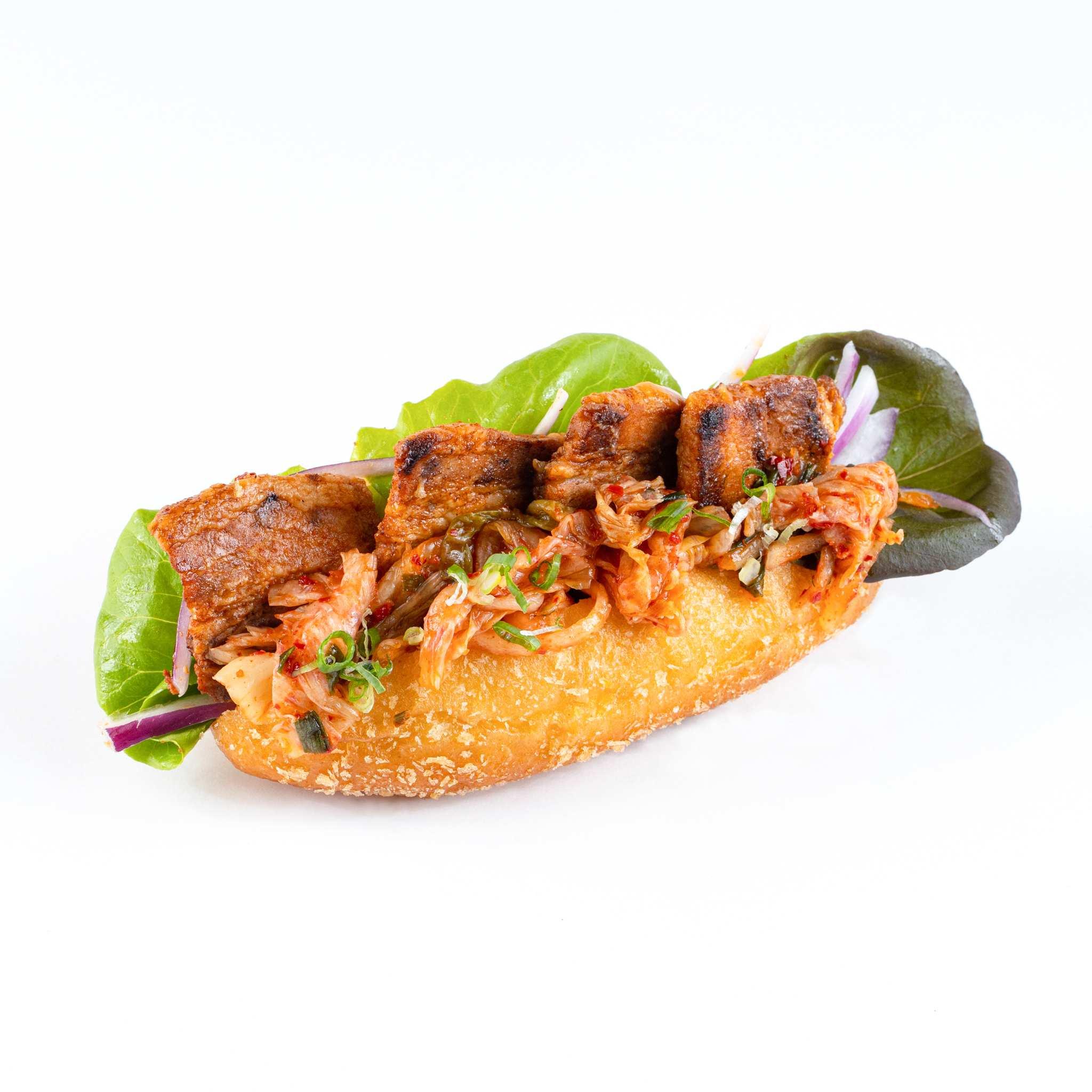 Pork Belly & kimchi