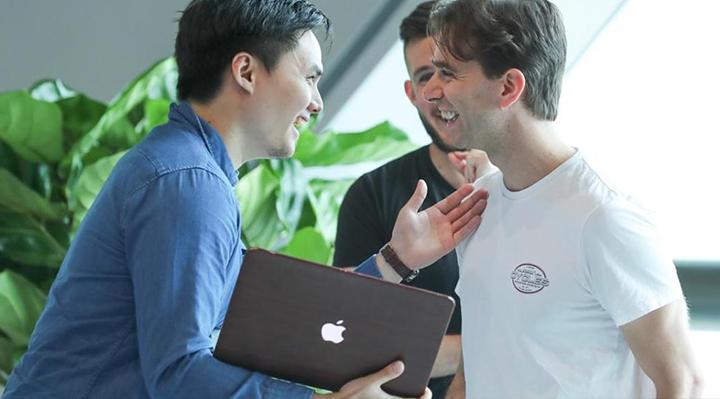 Alessio Quaglini CEO of Hex Trust, EOS Hackathon