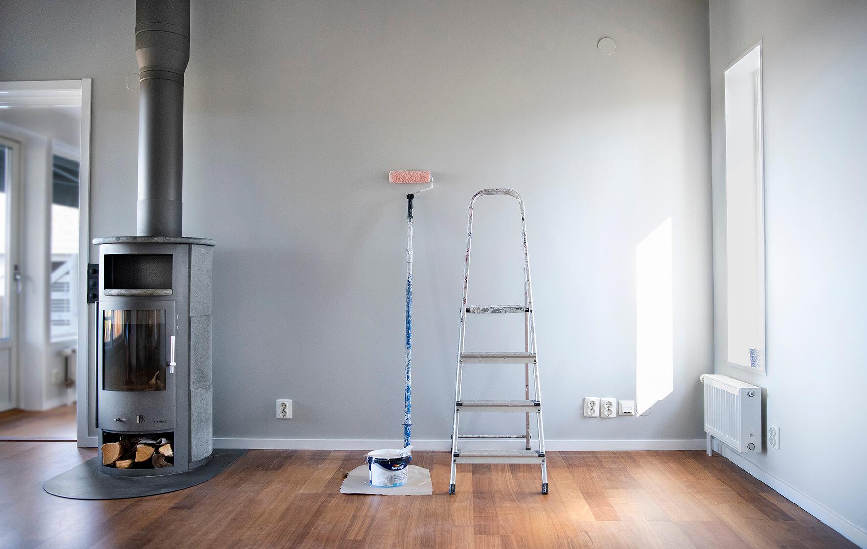 Nymålad och renoverad lägenhet