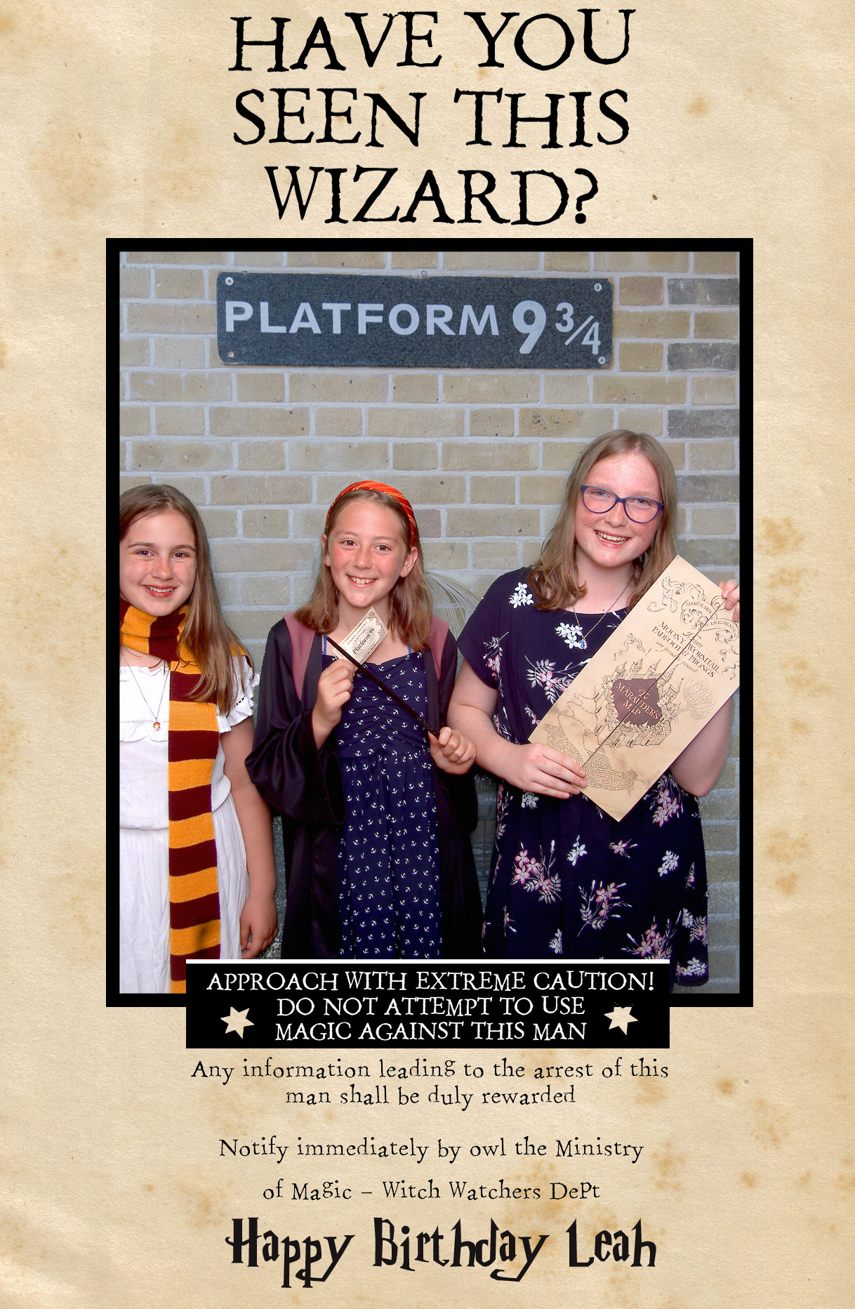 Harry Potter Photobooth