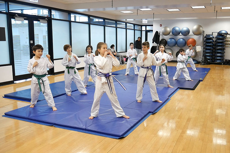 The Ray Meyer x Impact Dojo Kids Karate Program