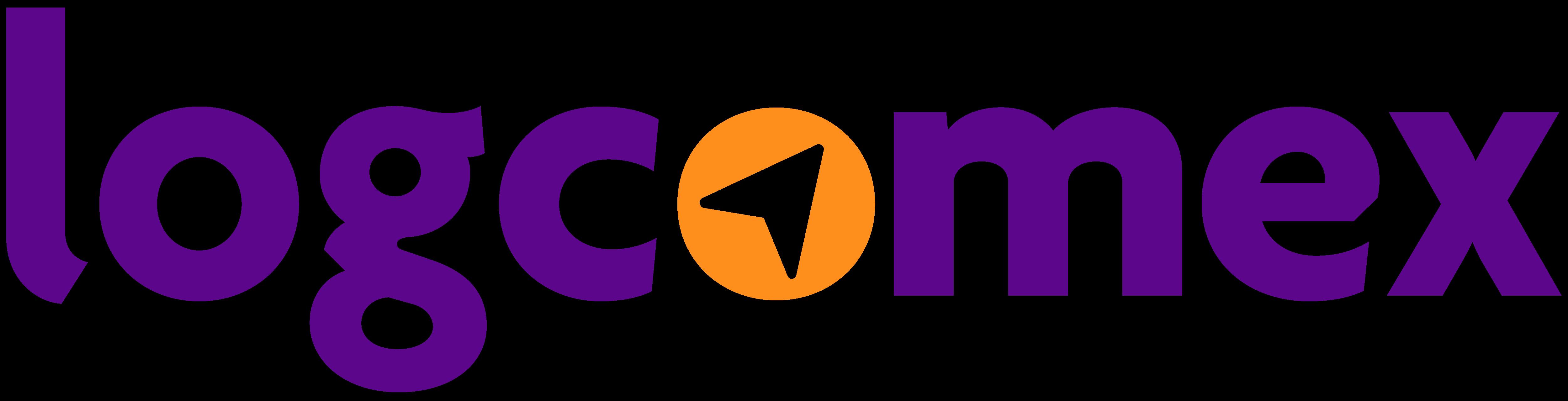 Logotipo Logcomex Roxo