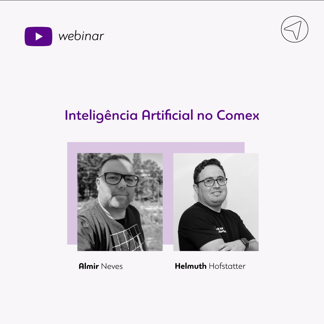 Webinar - IA no Comex