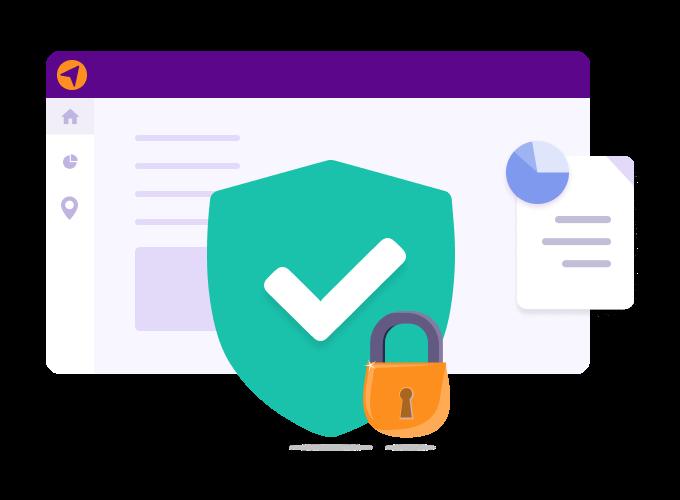 imagem logcomex segurança de dados