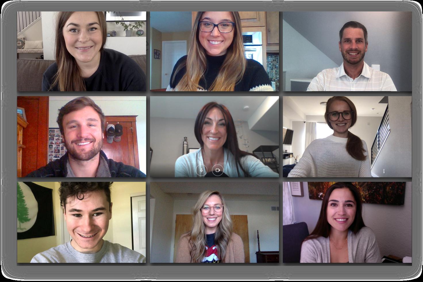 AppIt Ventures Denver Team on Zoom
