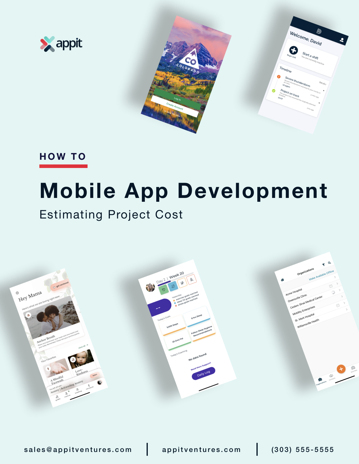 Mobile App Development eBook cover