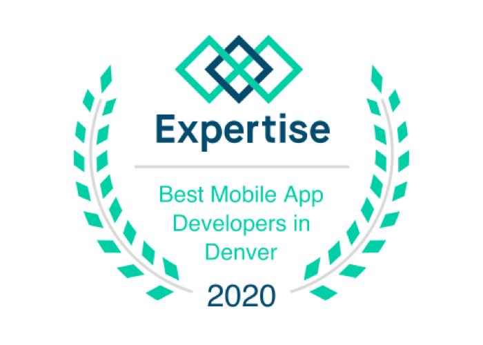 Expertise Best Mobile App Developers in Denver 2020 Badge