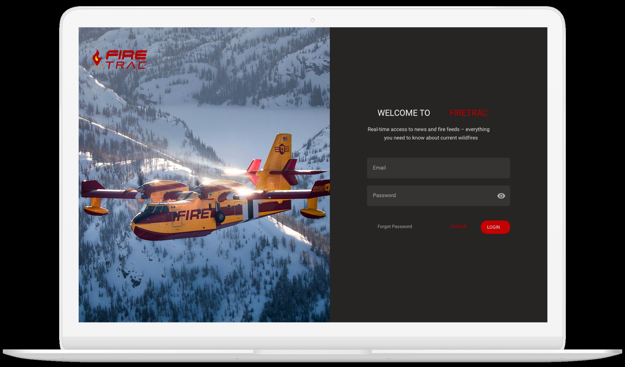 bridger-aerospace-firetrac-custom-application