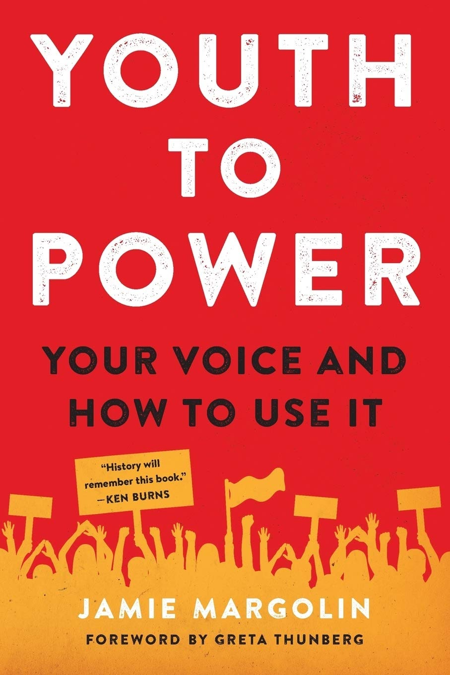 Youth to Power: Your Voice and How to Use It: Margolin, Jamie, Thunberg,  Greta: 9780738246666: Amazon.com: Books