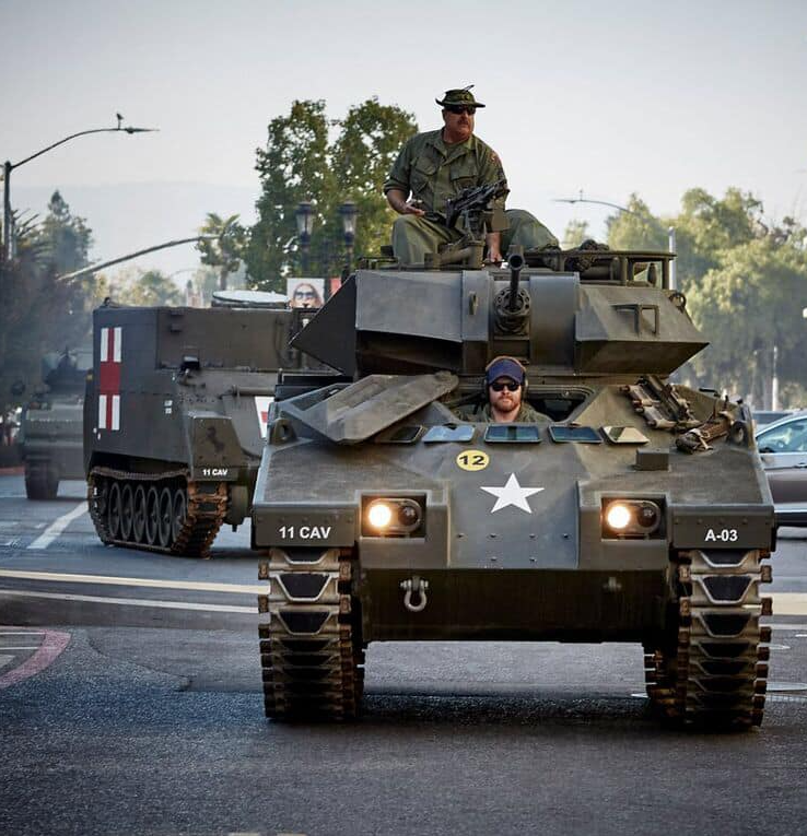 Veterans Day in San Jose, CA