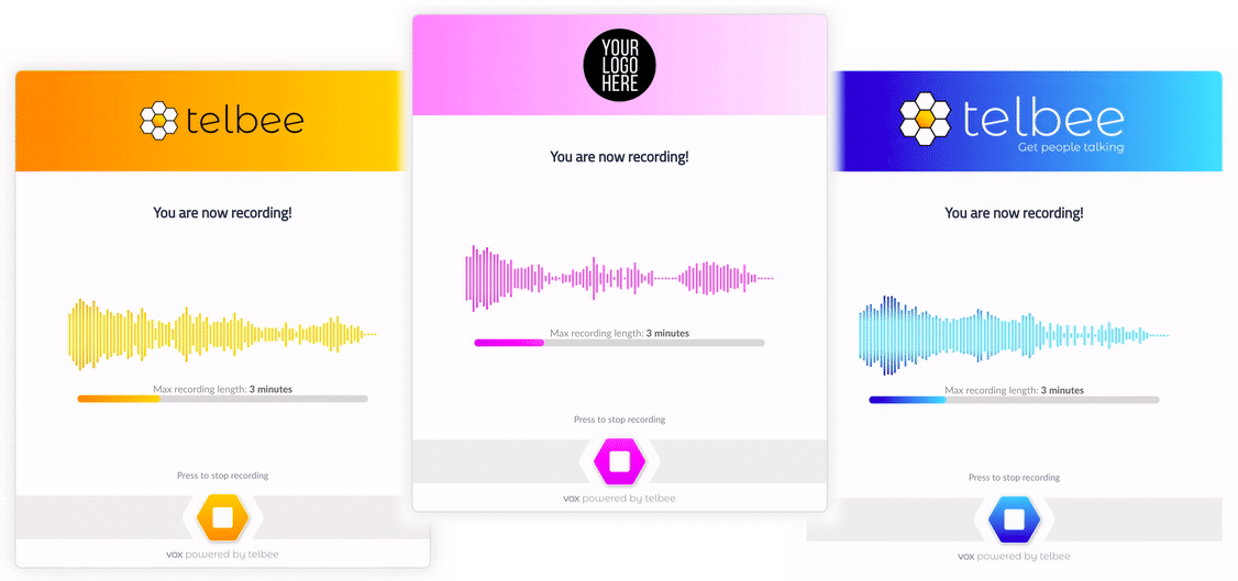 voice recording and messaging platform