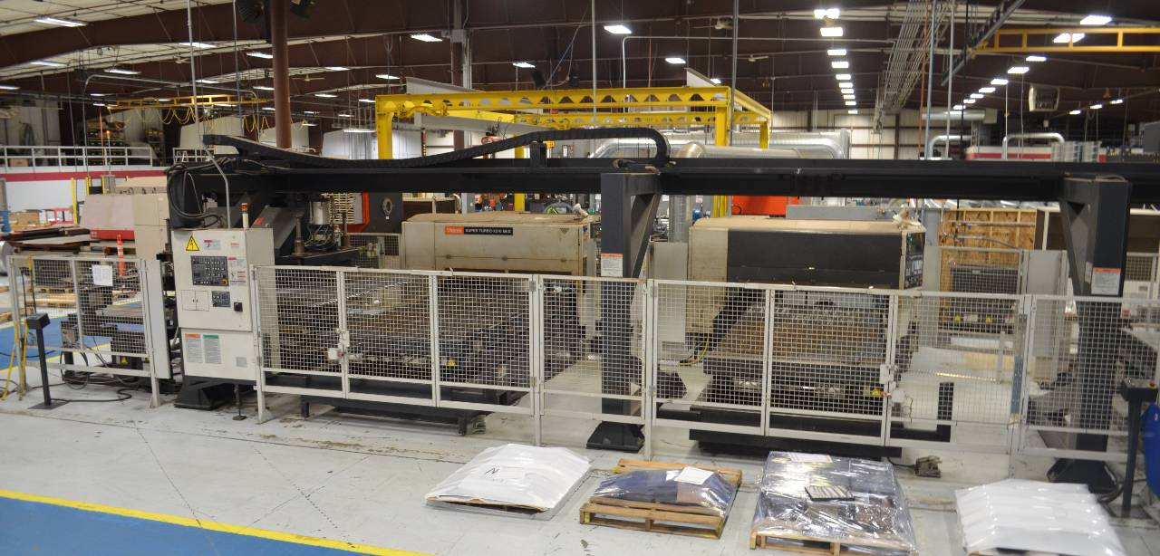 Automated CO2 laser cutting machine