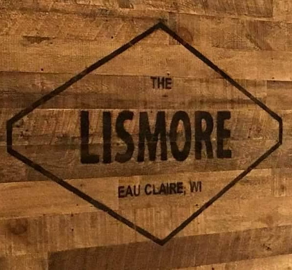 Eau Claire Lismore branded wood sign