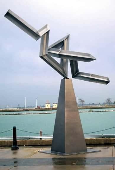 solar synapse sculpture